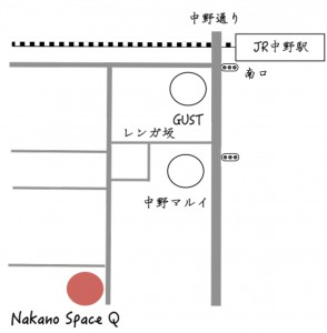 map SpaceQ